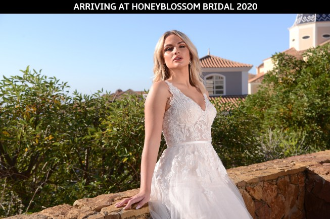 Catherine Parry Zara bridal gown arriving soon to Honeyblossom Bridal