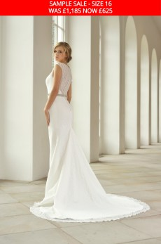 Catherine Parry 1712 bridal gown sample sale