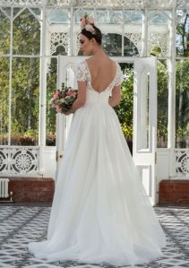 Freda Bennet Jenna wedding dress
