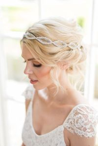 Crystal wedding headpiece - Seraphina