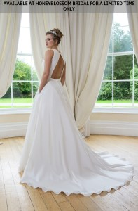 GAIA Cate bridal gown - Available at Honeyblossom Bridal for a limited time only