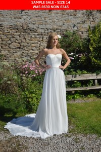 GAIA CPCD23 wedding dress sample sale