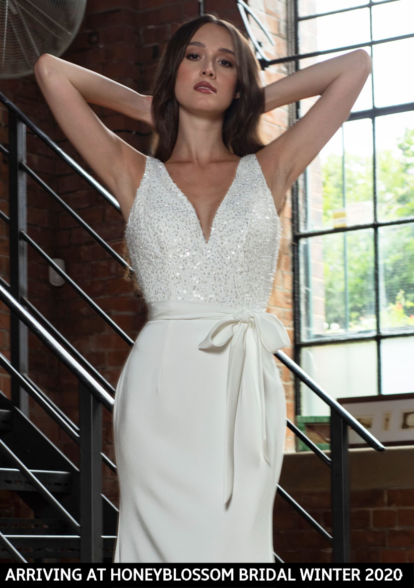 Freda Bennet Hope bridal dress arriving soon to Honeyblossom Bridal