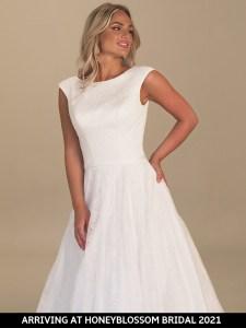 GAIA Maxime bridal dress arriving soon to Honeyblossom Bridal boutique