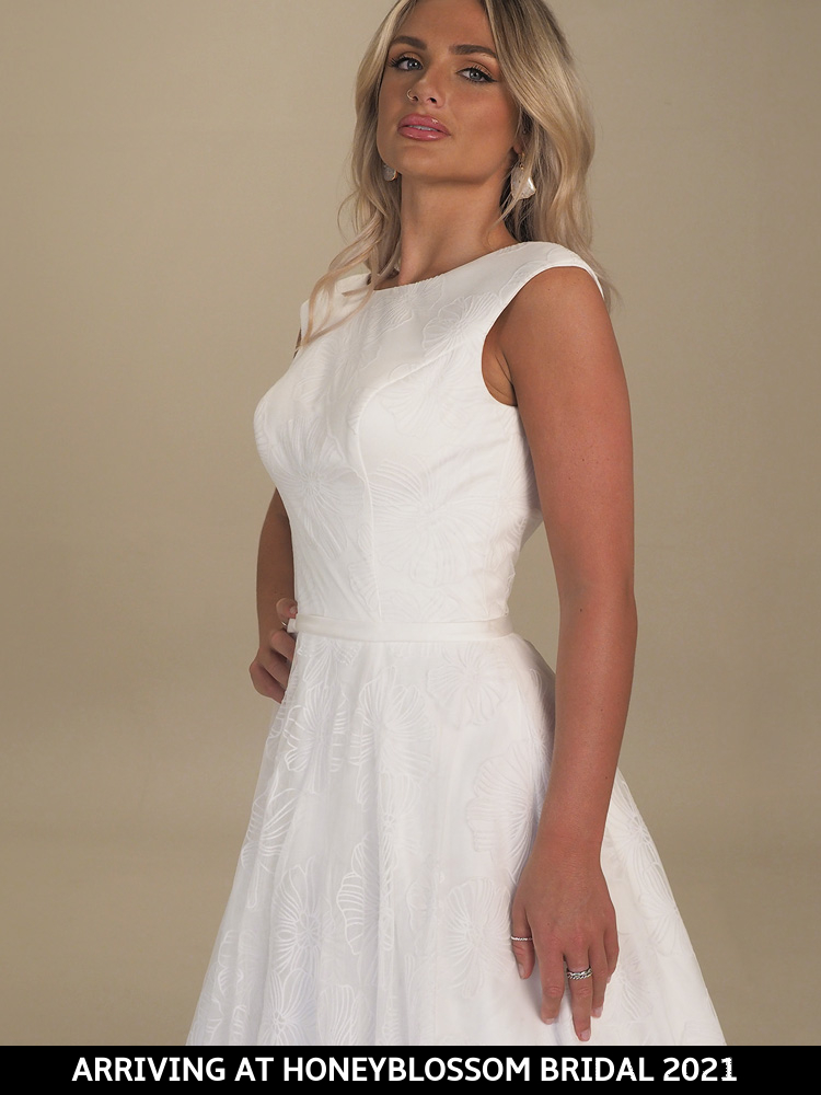 GAIA Maxime wedding dress arriving soon to Honeyblossom Bridal boutique
