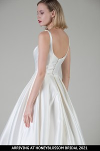 MiaMia Bologna wedding gown arriving soon to Honeyblossom Bridal