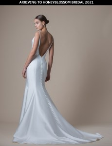 MiaMia Mariah bridal gown arriving soon to Honeyblossom Bridal