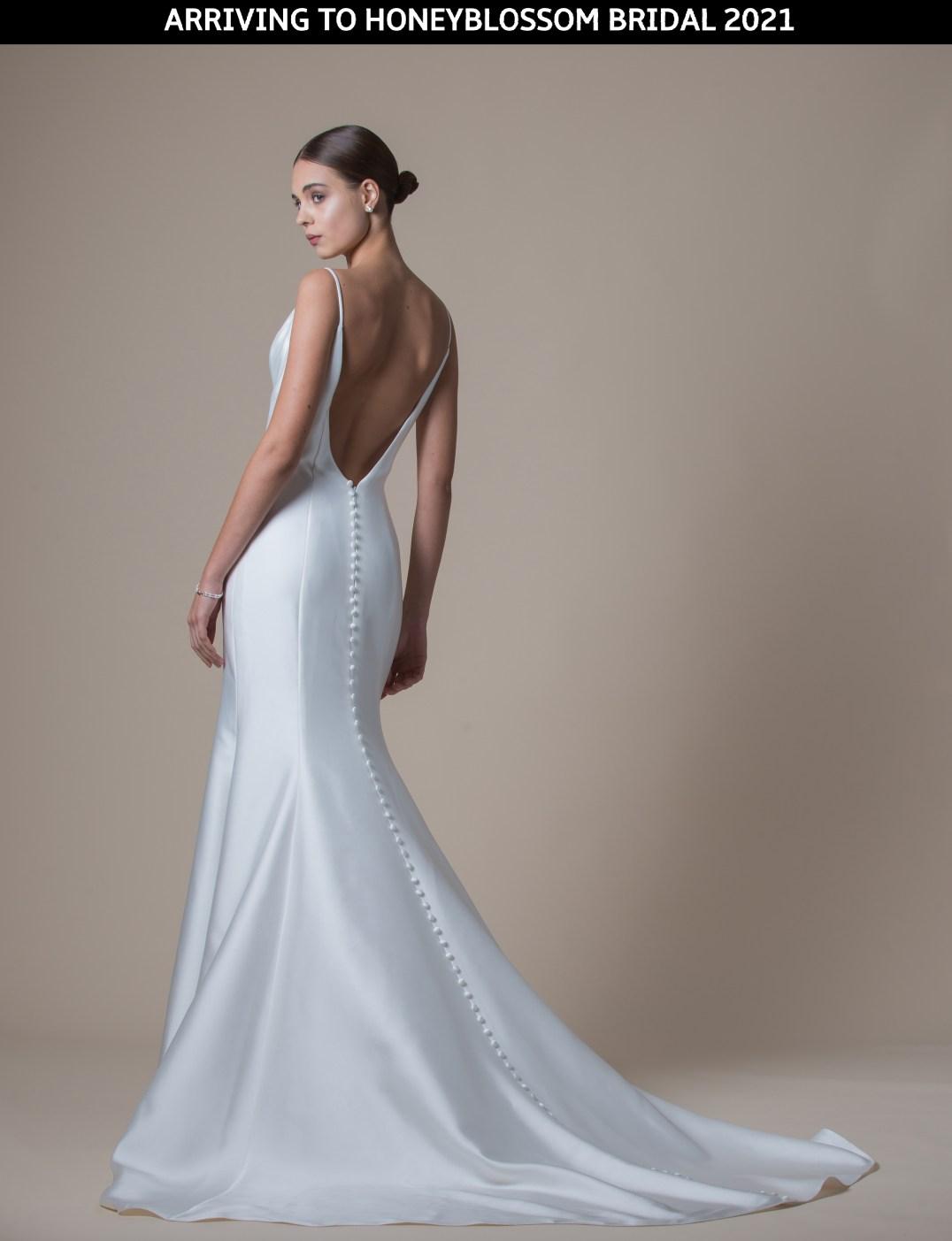 MiaMia Mariah bridal gown arriving soon to Honeyblossom Bridal