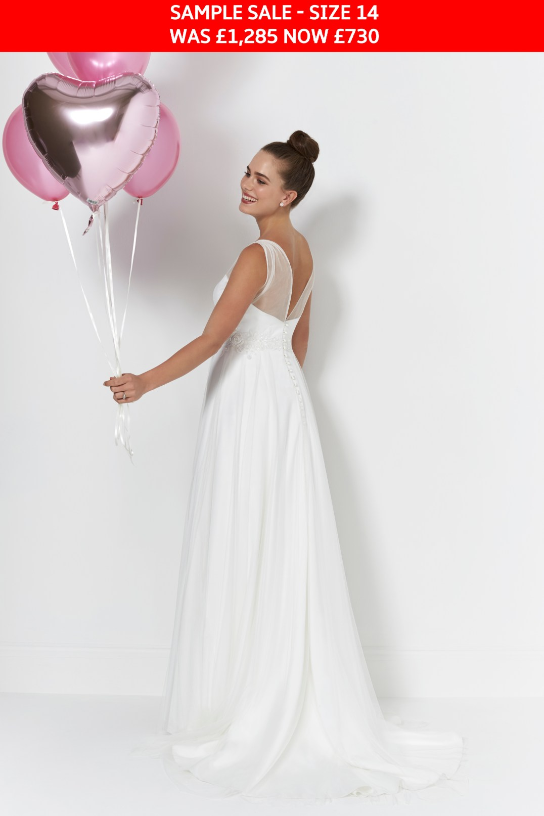 So Sassi Libby bridal gown sample sale