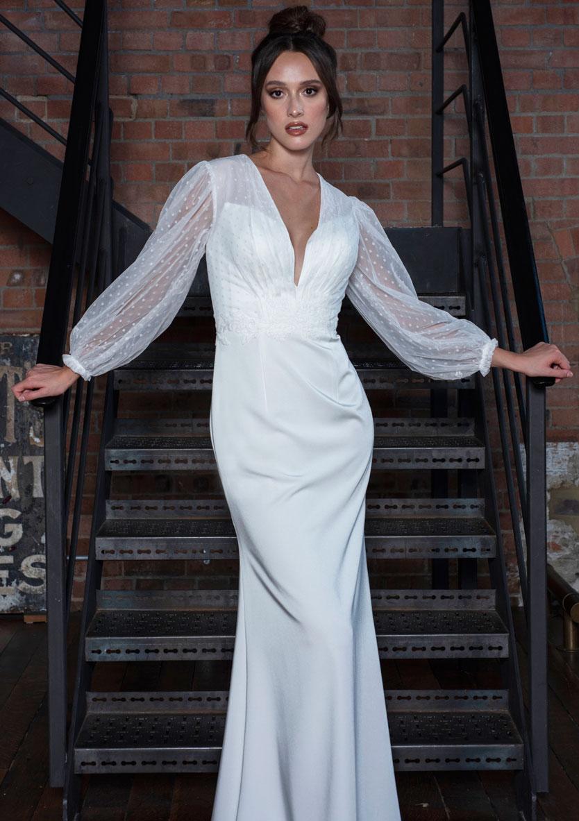 Freda Bennet Marcie bridal gown