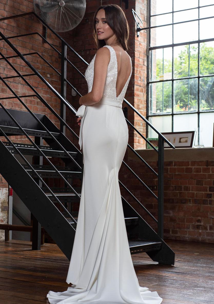 Freda Bennet Hope wedding dress