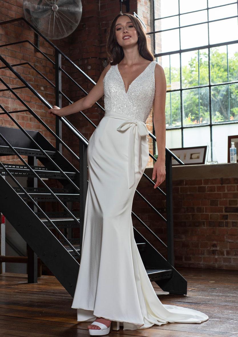 Freda Bennet Hope wedding gown
