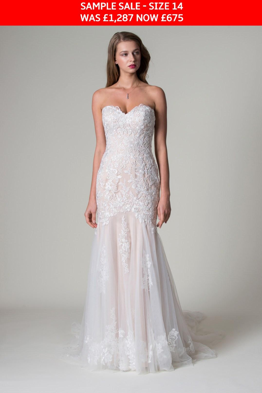 MiaMia Paulina wedding gown sample sale