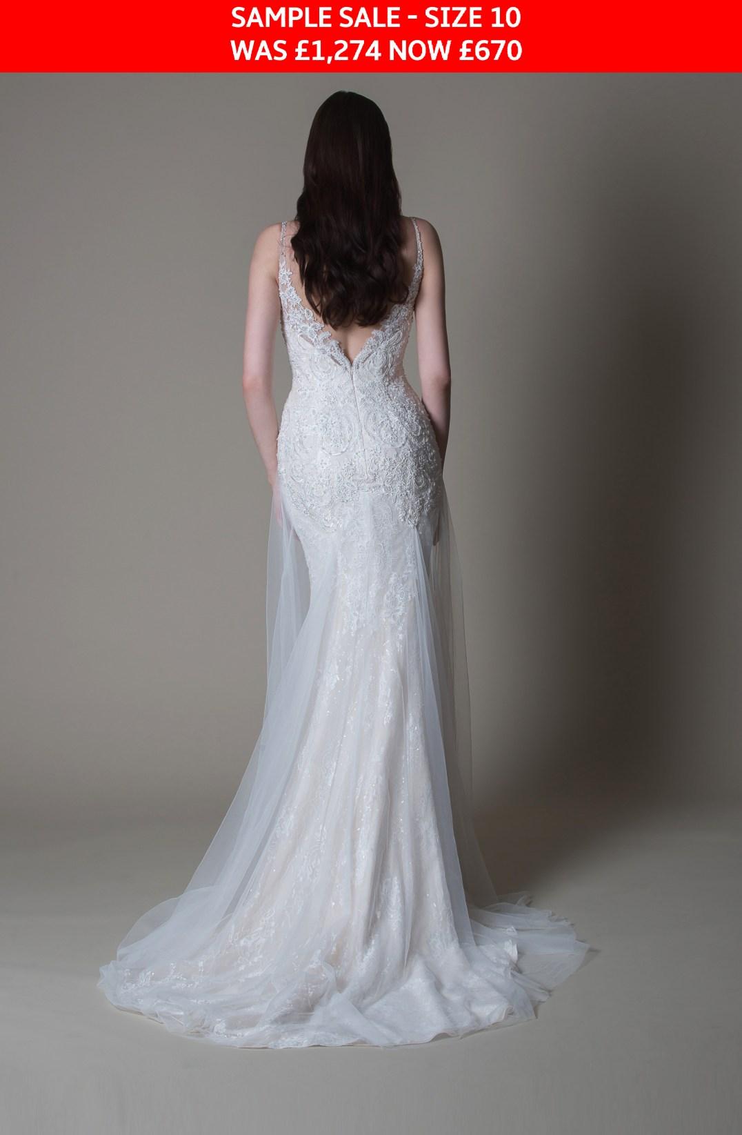 MiaMia Abigail wedding dress sample sale