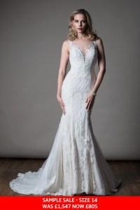 MiaMia Maude bridal dress sample sale