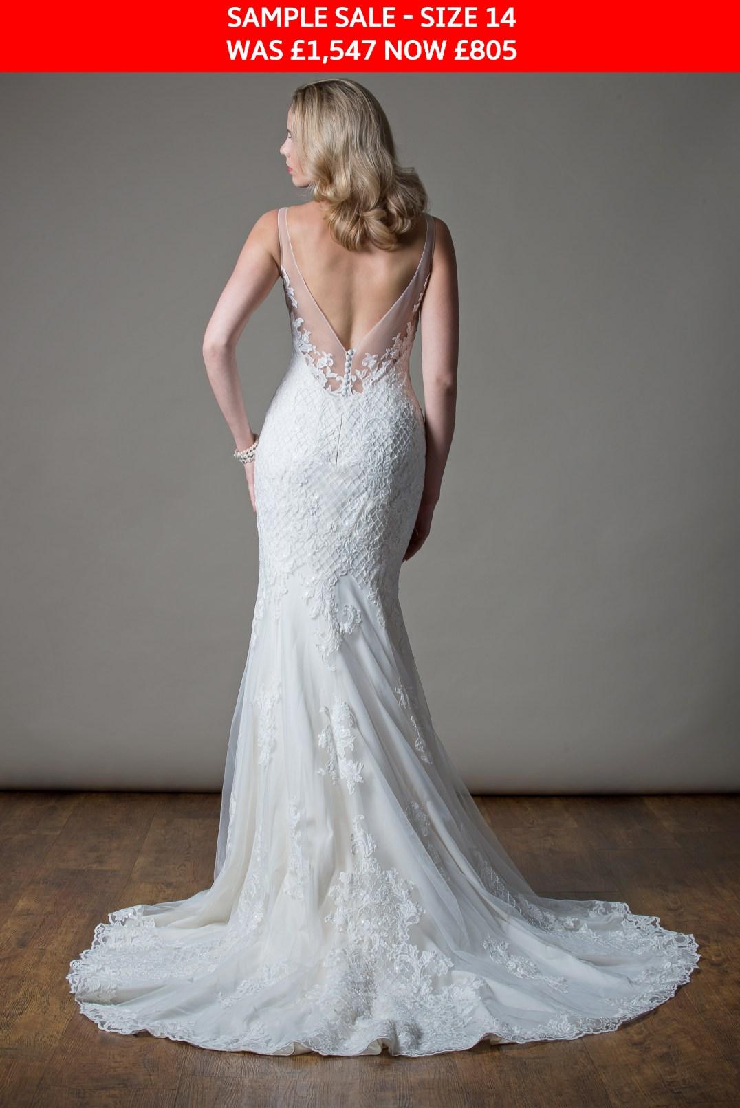 MiaMia Maude wedding gown sample sale