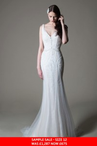 MiaMia Sophia wedding dress sample sale