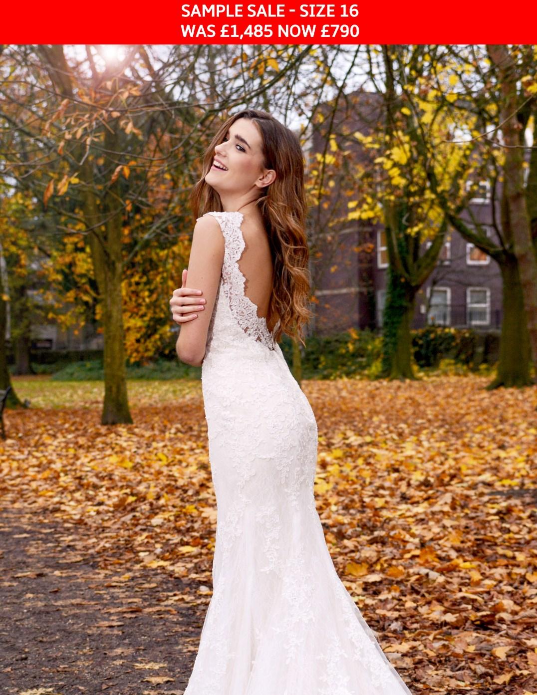 GAIA Cerys wedding gown sample sale