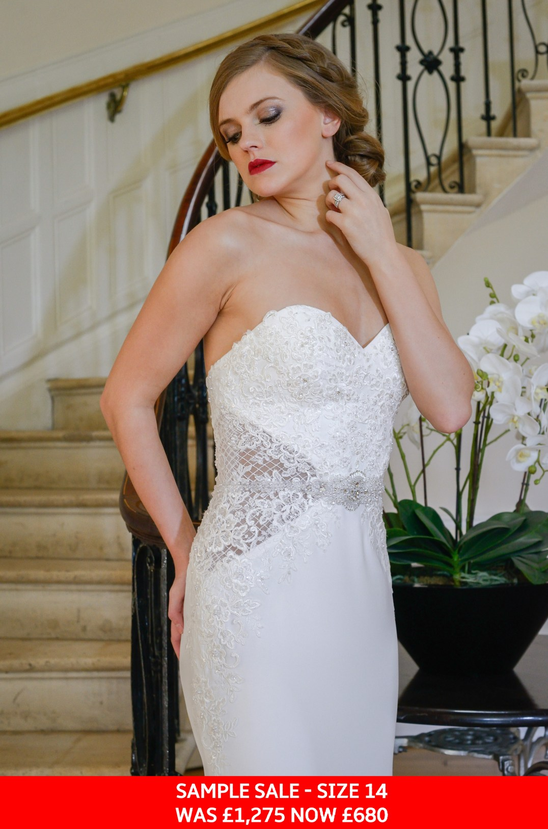 GAIA Nia bridal gown sample sale