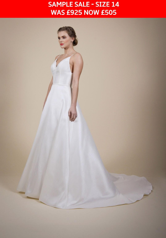 GAIA Tania bridal gown sample sale