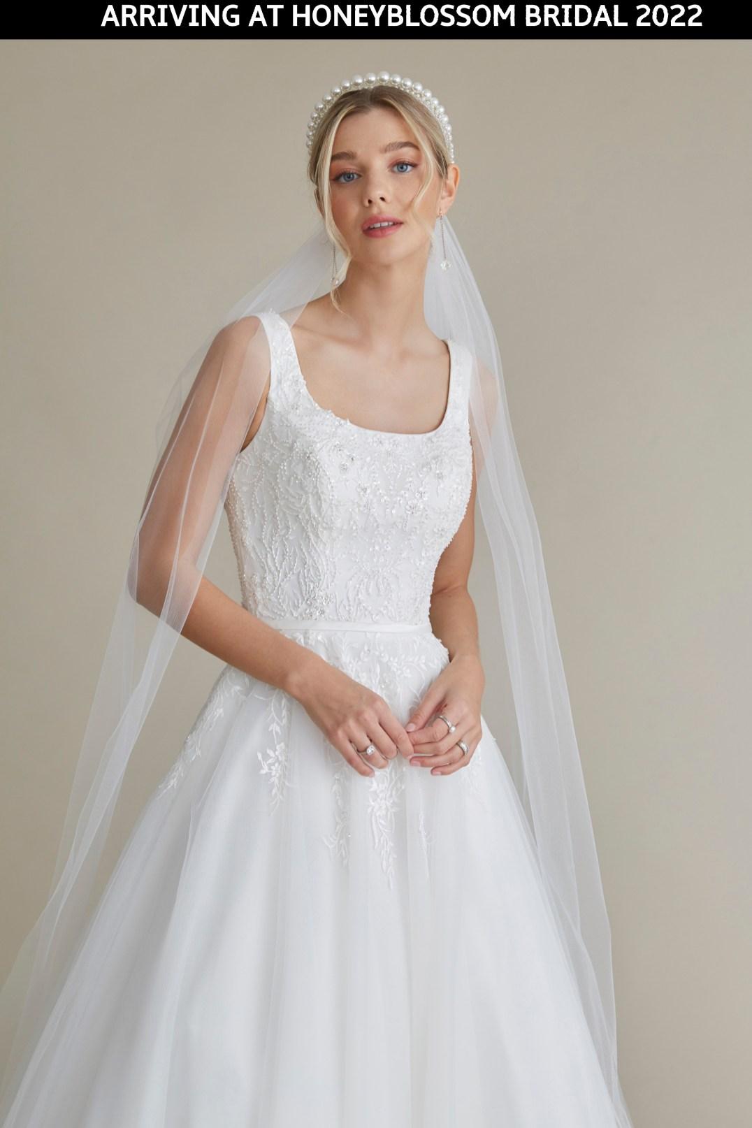 MiaMia Elle wedding dress arriving soon to Honeyblossom Bridal