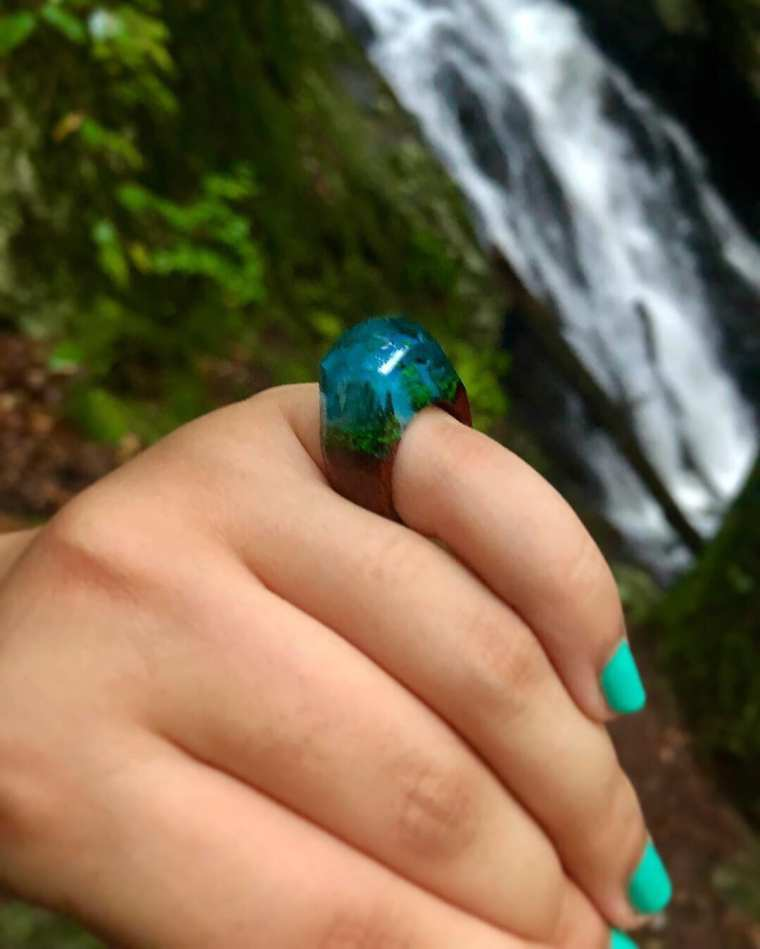 secret wood ring