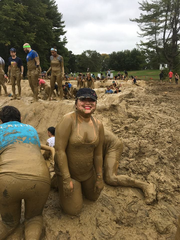tough mudder girl