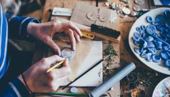 Hands Working on a Craft Annie Spratt Unsplash Crafting