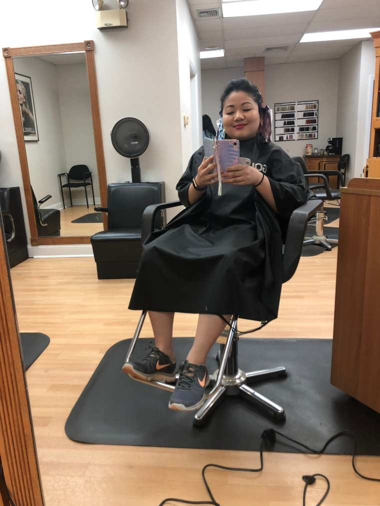foils hair-dye