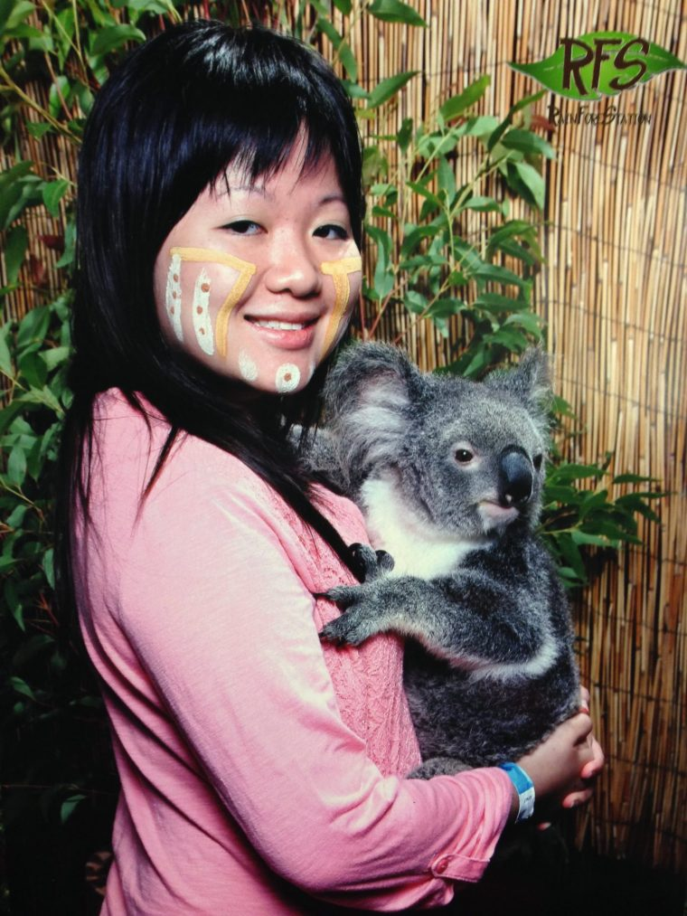 25 Pieces of Advice I Learned at 25 Years Old girl holding koala