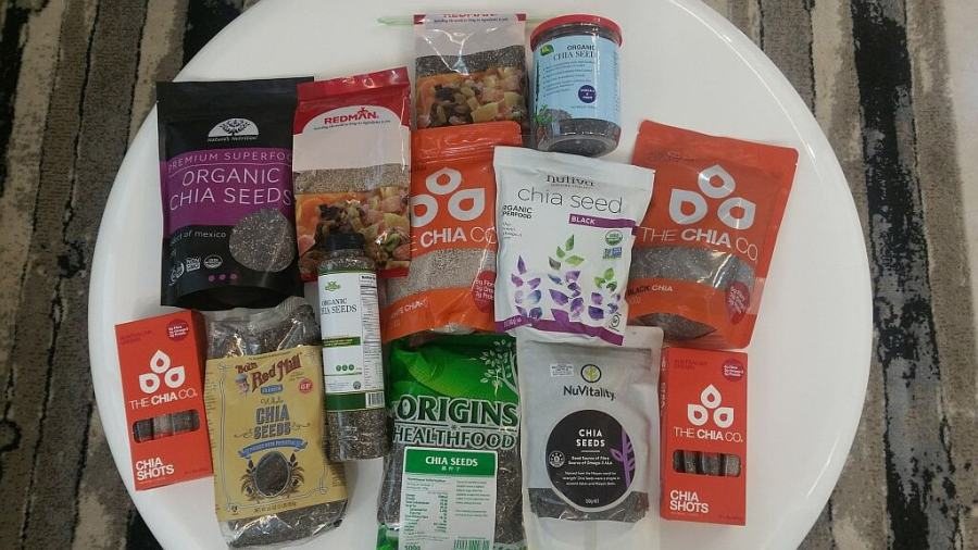 Chia Seeds Superfood Comparing different brands