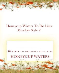 Honeycup Waters to do List book cover