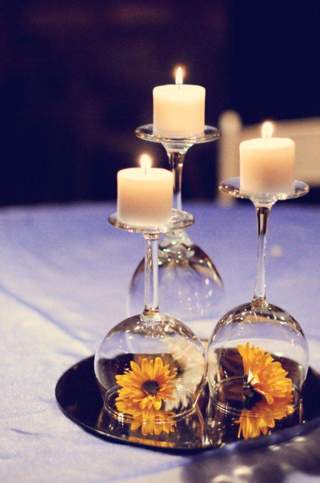 Simple Centerpieces For Wedding Reception