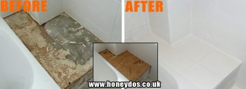 BATHROOM TILING AND REPAIRS