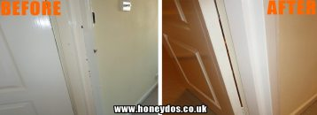 WOODWORK GLOSS PAINTED