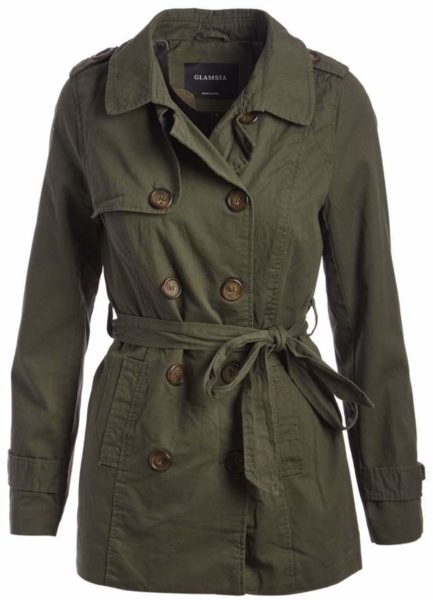 Olive-Trench-Coat