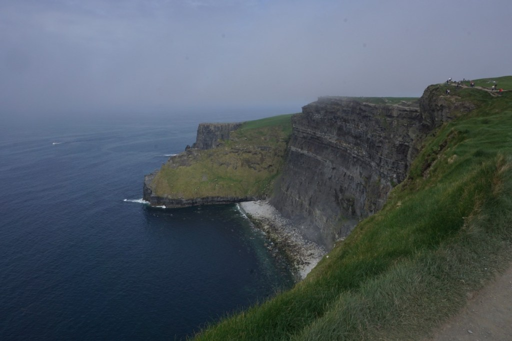 Cliffs of Moher from above