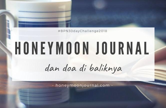 memilih nama blog honeymoonjournal.com