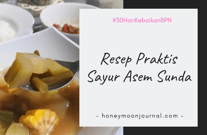 resep praktis sayur asem sunda - honyemoonjournal.com