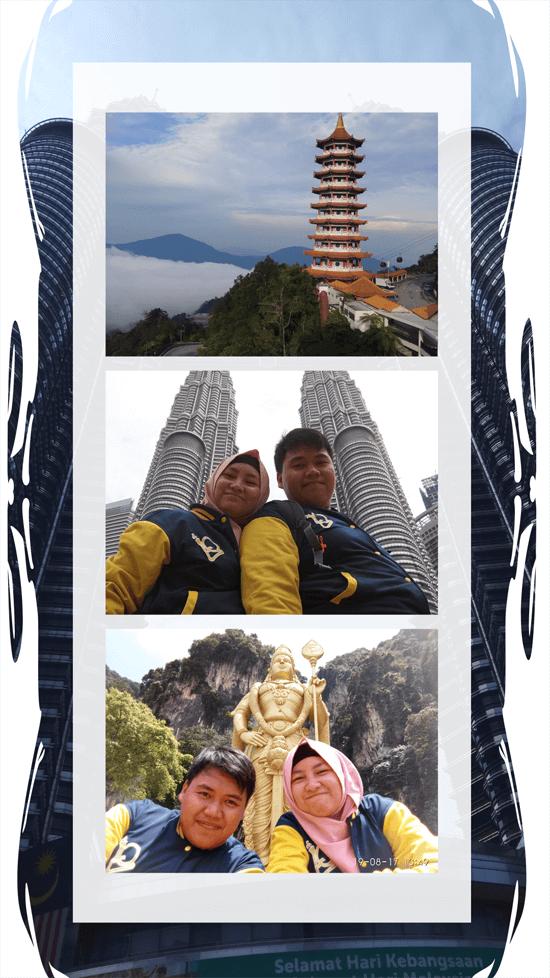 honeymoon journal backpacker malaysia