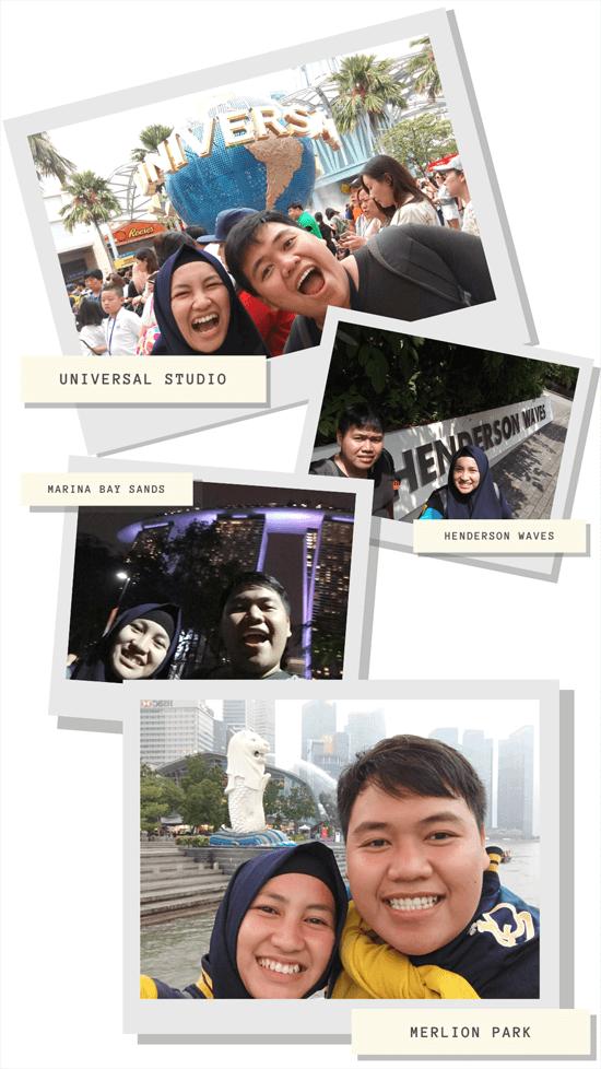 honeymoon journal backpacker singapore