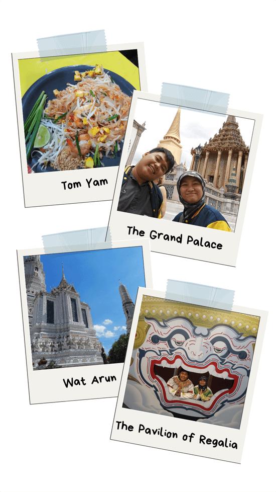 honeymoon journal backpacker thailand
