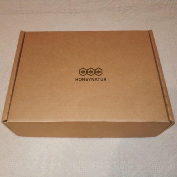 Коробка для подарочного набора с мёдом
