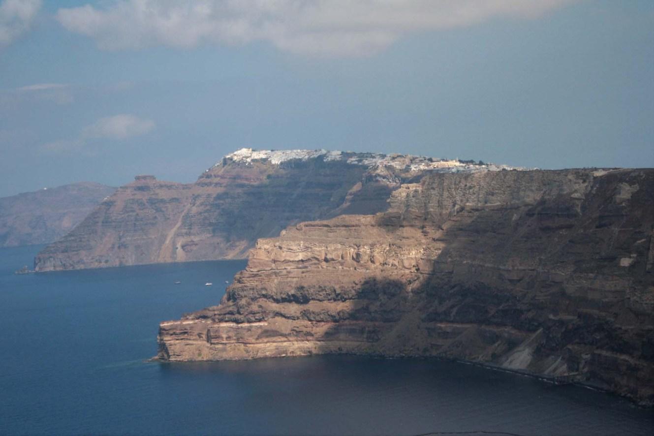 Falaises de Santorin