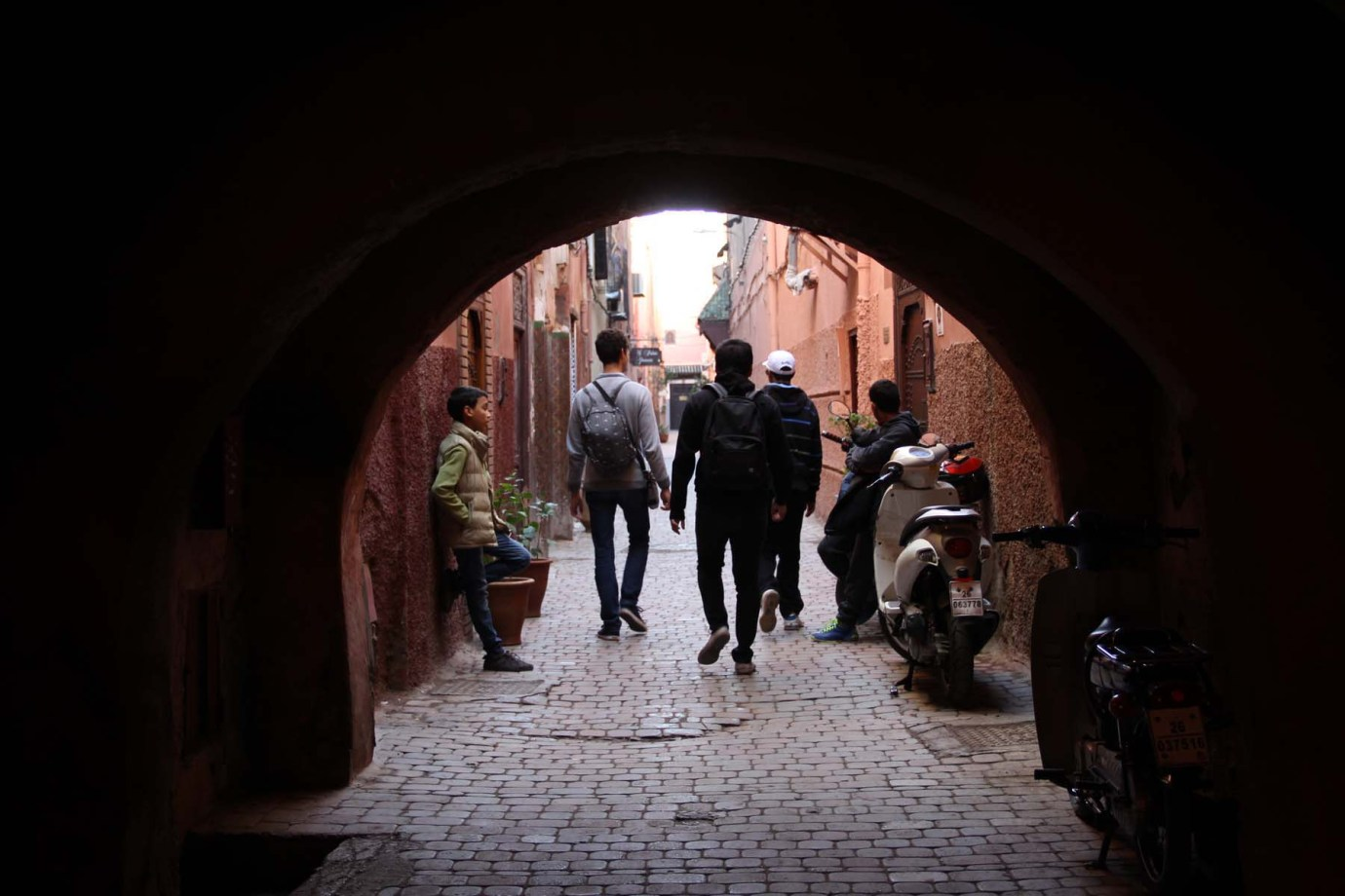 Marrakech arch