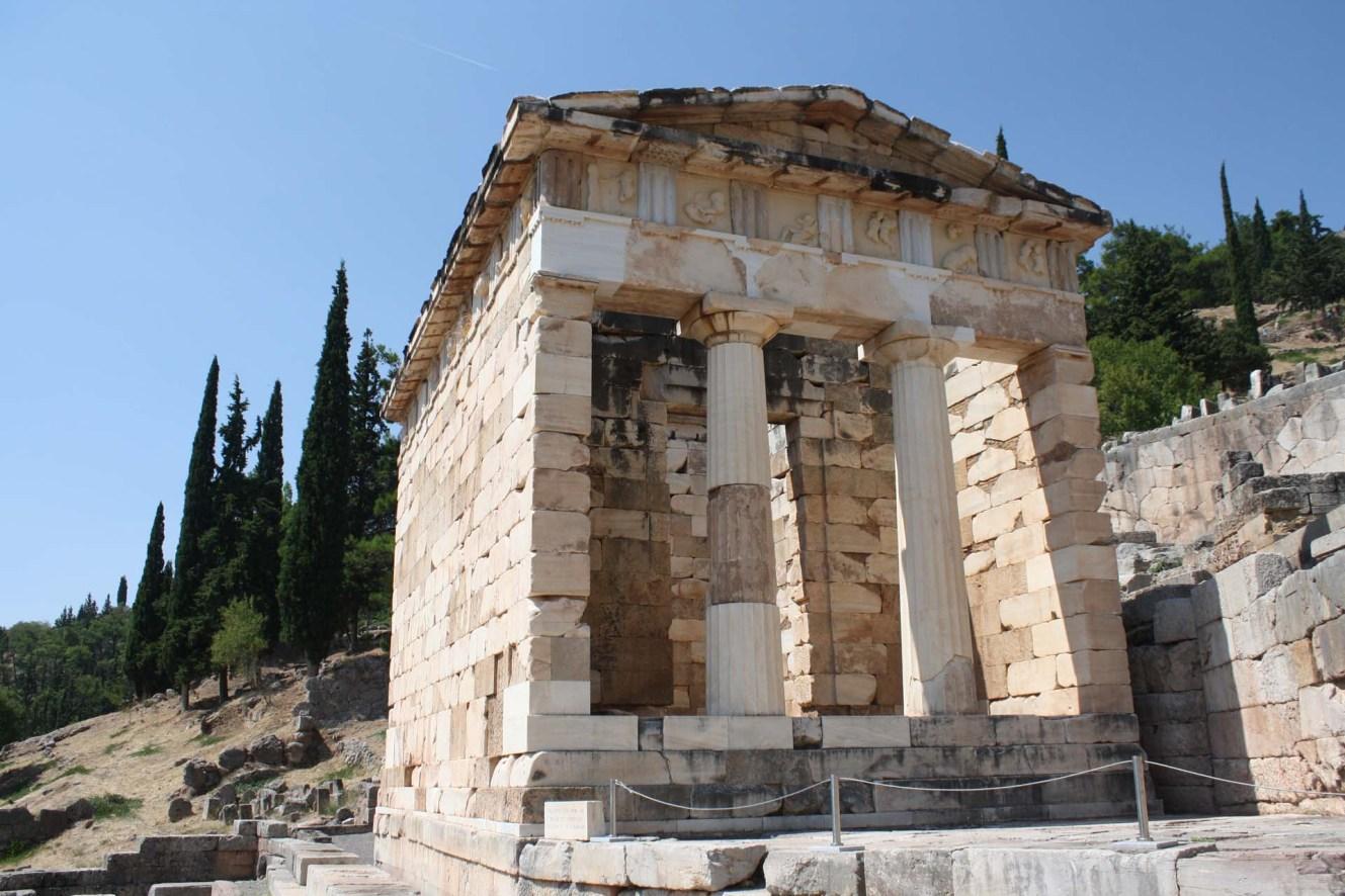 Trésor des Athéniens Delphes