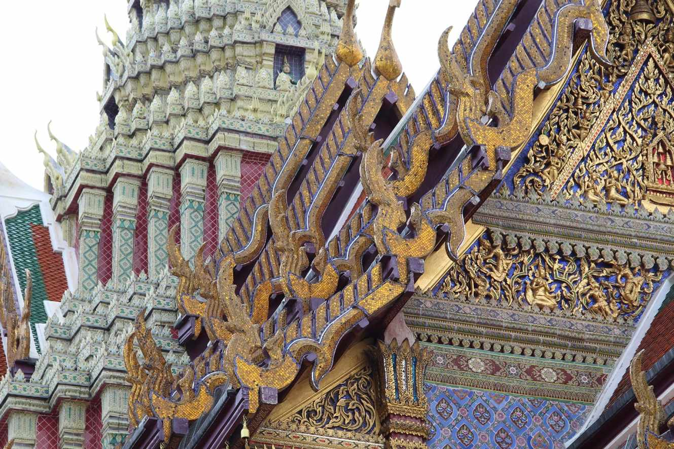 roofs royal palace bangkok