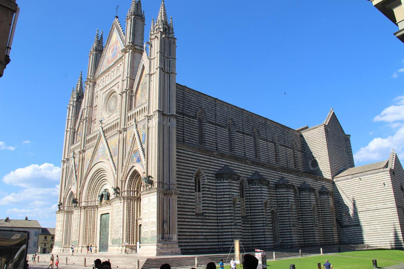 Side Orvieto Cathedral
