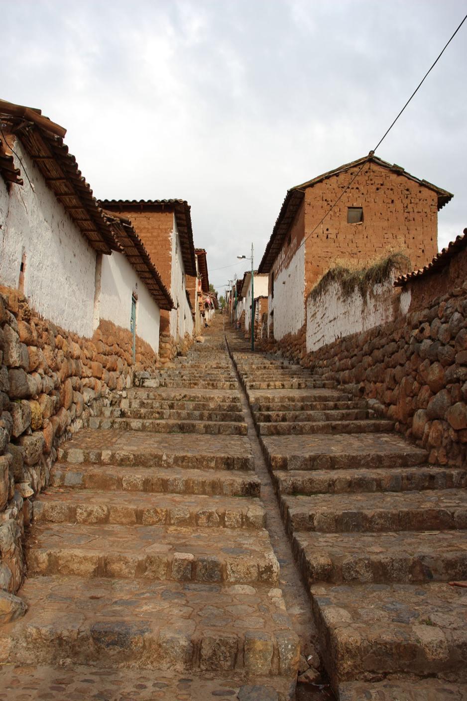 Una strada di Chinchero