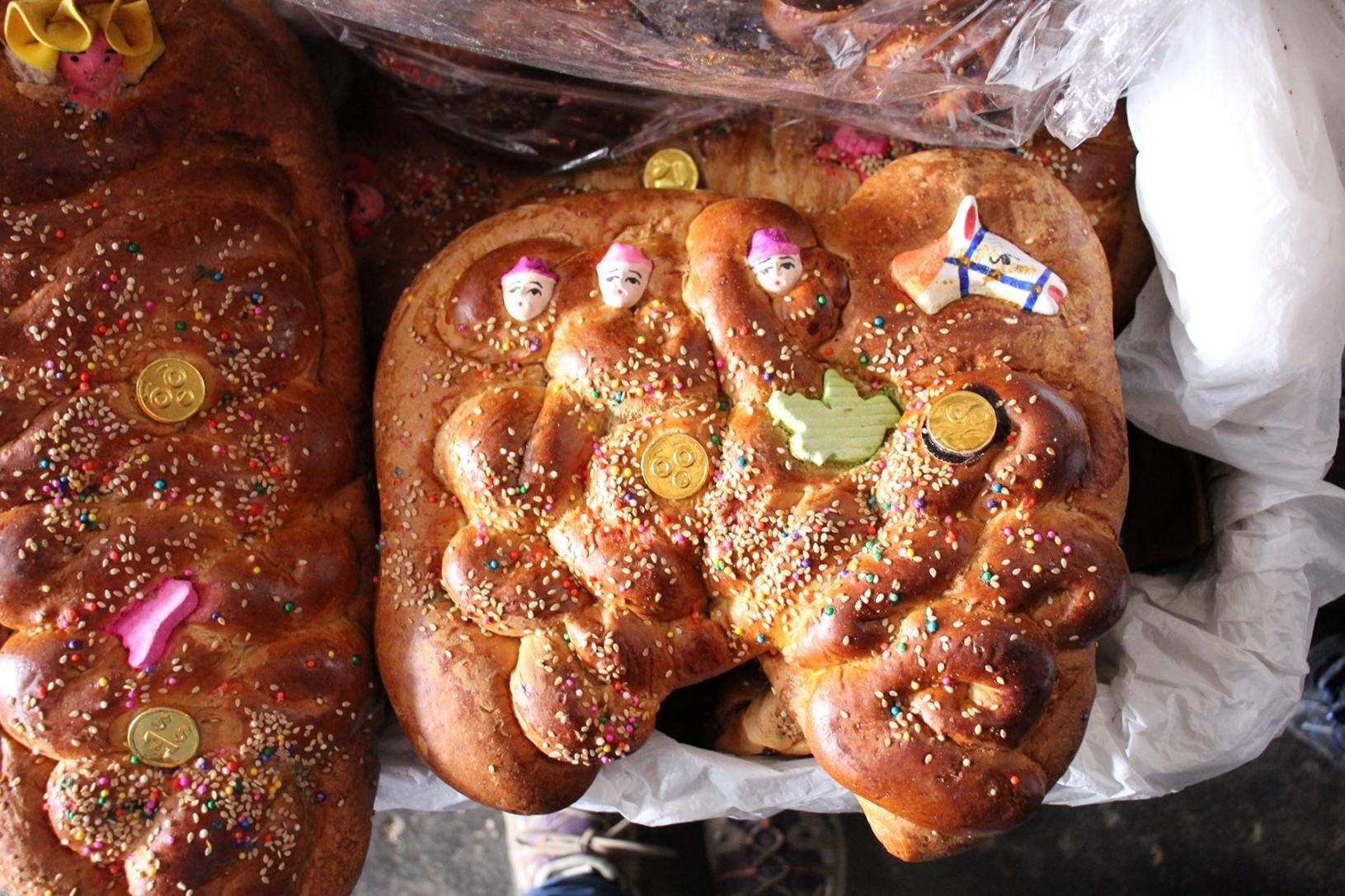Dolci da forno al mercato di San Pedro a Cuzco